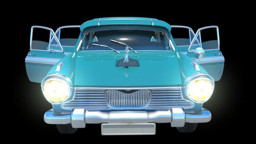 car austin cambridge 1970 royalty-free 3d model - Preview no. 3