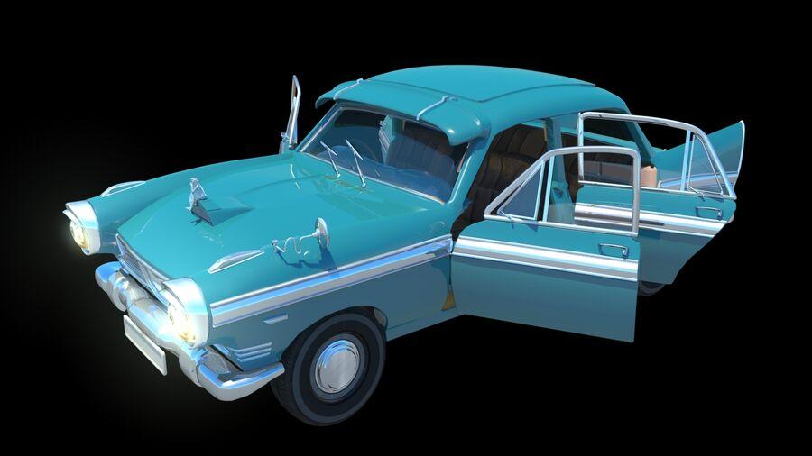 car austin cambridge 1970 royalty-free 3d model - Preview no. 2