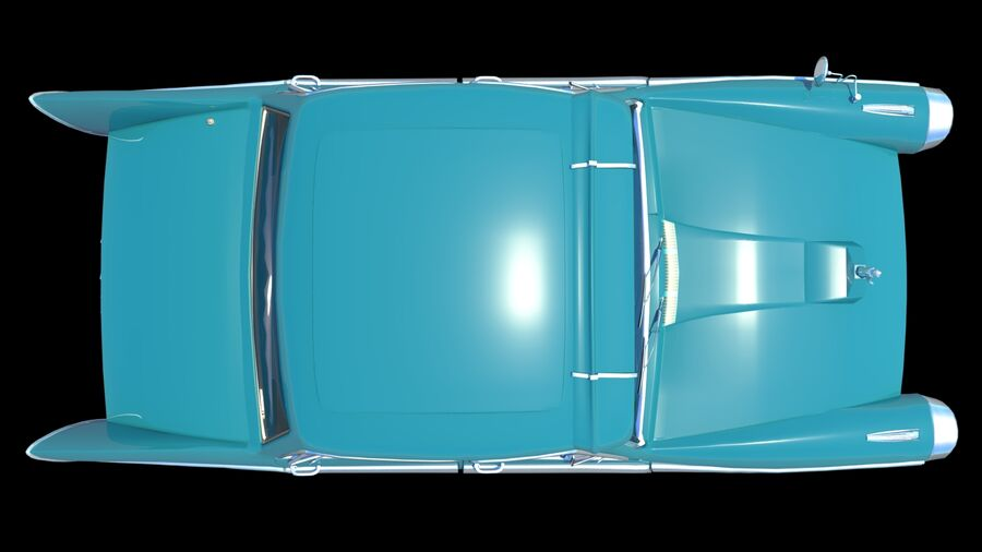 car austin cambridge 1970 royalty-free 3d model - Preview no. 5