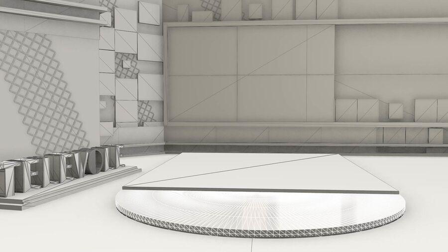 SPORT NIGHT STUDIO royalty-free 3d model - Preview no. 7