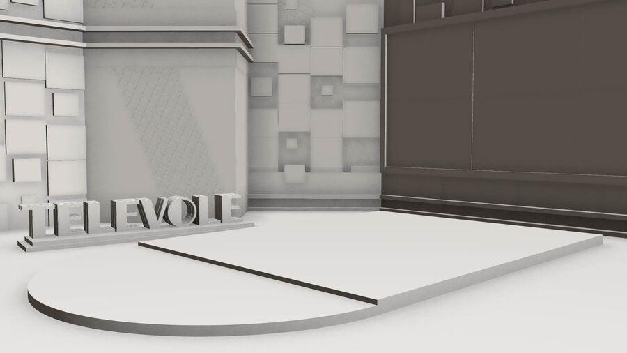 SPORT NIGHT STUDIO royalty-free 3d model - Preview no. 1