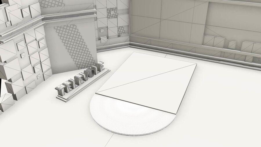 SPORT NIGHT STUDIO royalty-free 3d model - Preview no. 3