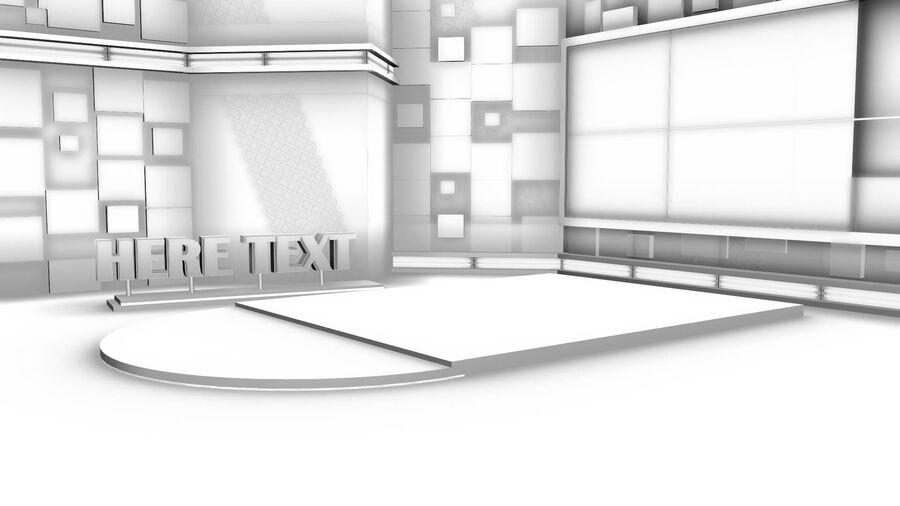 SPORT NIGHT STUDIO royalty-free 3d model - Preview no. 4