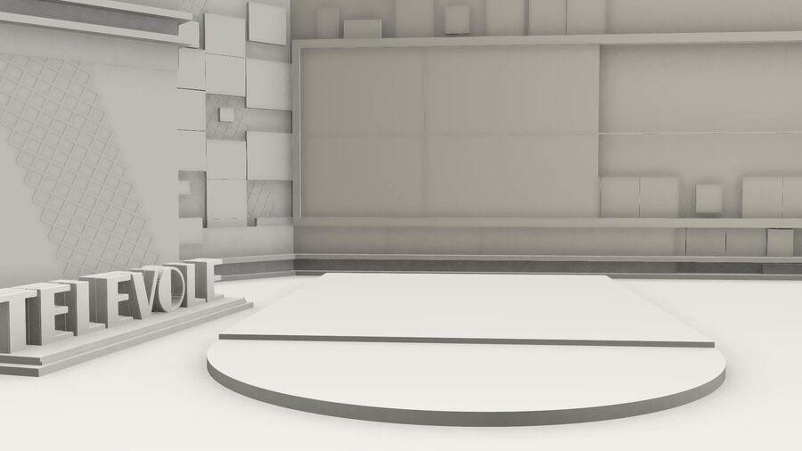 SPORT NIGHT STUDIO royalty-free 3d model - Preview no. 2
