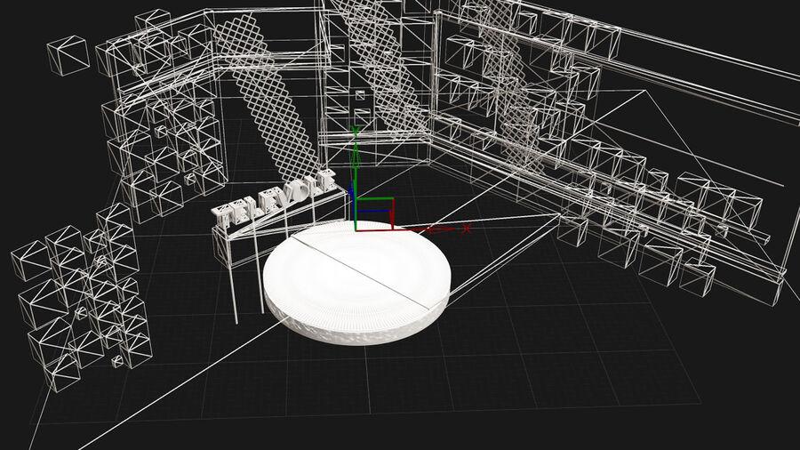 SPORT NIGHT STUDIO royalty-free 3d model - Preview no. 6