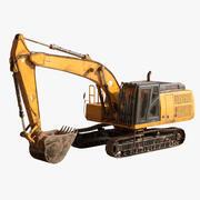 Escavatore 3d model