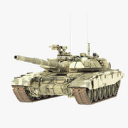 坦克T 90 3d model