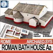 Łaźnia rzymska Aa 3d model