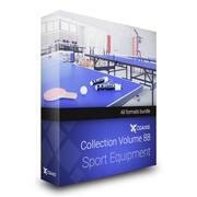 Équipement de sport Collection Modèles 3D Volume 88 3d model