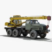 KS 2573汽车起重机 3d model