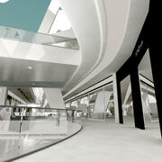 Centro de compras 3d model
