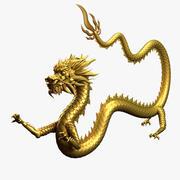 アジアの中国のドラゴン05 3d model