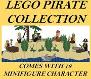 COLLECTION LEGO PIRATE 3d model