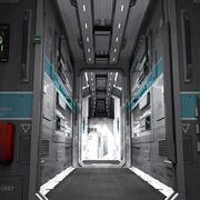 Interior of a Small Starship 3d model