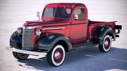 シボレーピックアップトラック1939 3d model