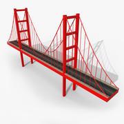 만화 다리 3d model