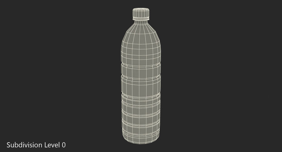 Garrafa de agua royalty-free 3d model - Preview no. 7