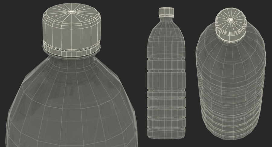 Garrafa de agua royalty-free 3d model - Preview no. 15