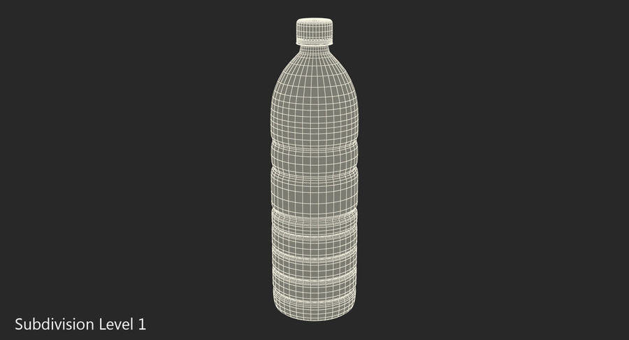 Garrafa de agua royalty-free 3d model - Preview no. 8