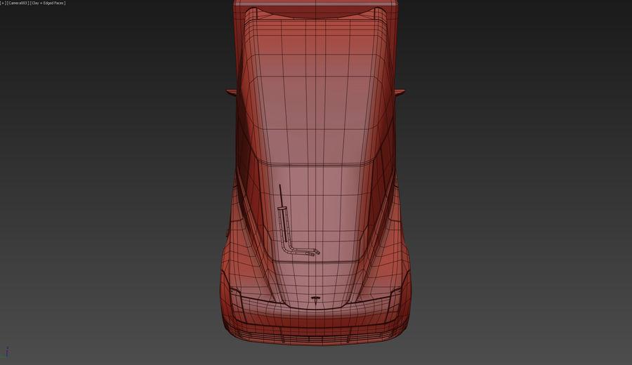 Tesla Semi Truck royalty-free 3d model - Preview no. 12