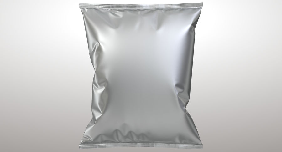 Food Packaging 02 royalty-free 3d model - Preview no. 3