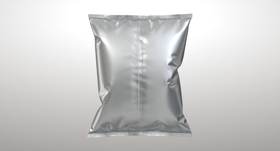 Food Packaging 02 royalty-free 3d model - Preview no. 8