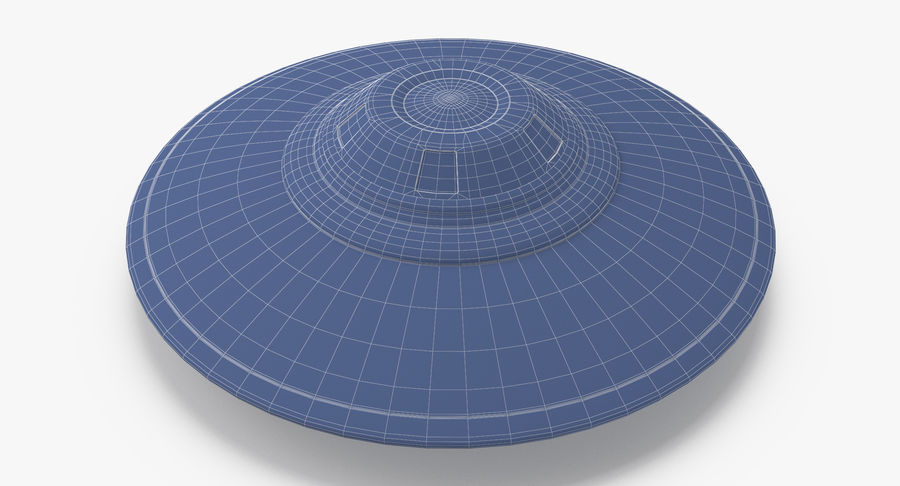 UFO royalty-free 3d model - Preview no. 16