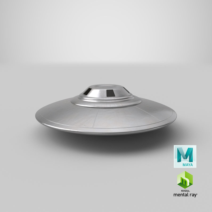 UFO royalty-free 3d model - Preview no. 23