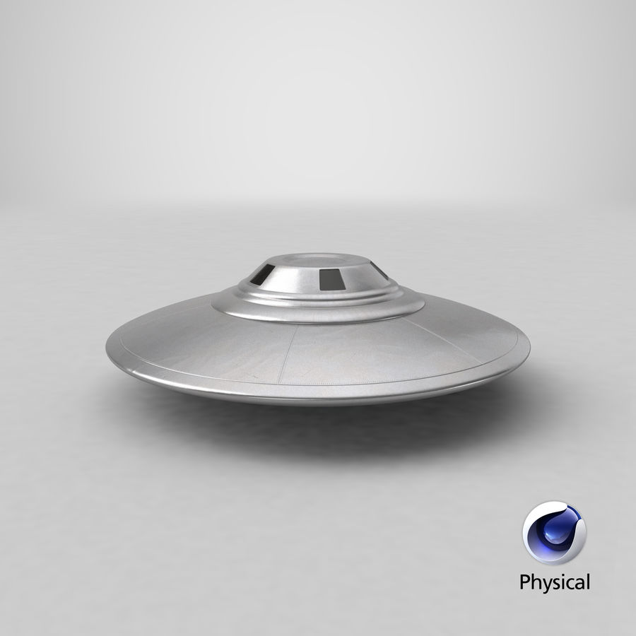 UFO royalty-free 3d model - Preview no. 26