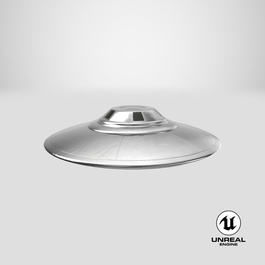 UFO royalty-free 3d model - Preview no. 27