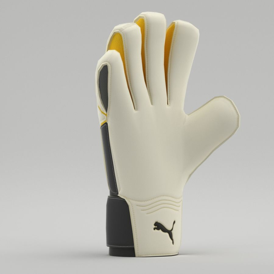 Puma V-Konstrukt II Keeper Glove royalty-free 3d model - Preview no. 7