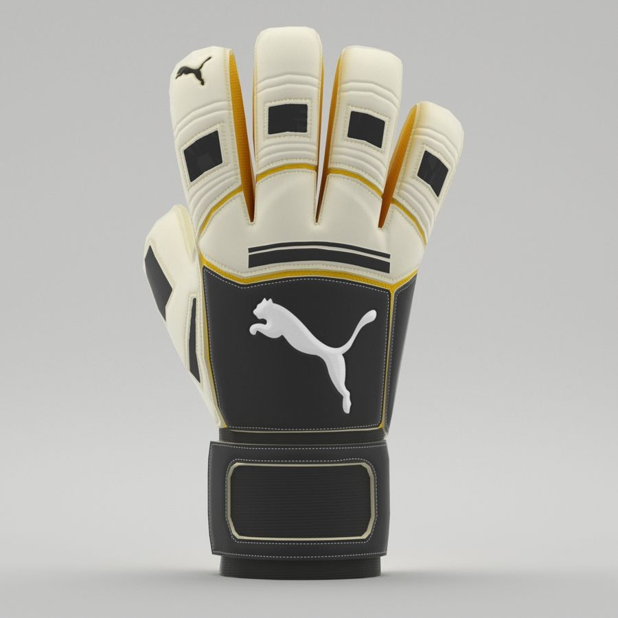 Puma V-Konstrukt II Keeper Glove royalty-free 3d model - Preview no. 10