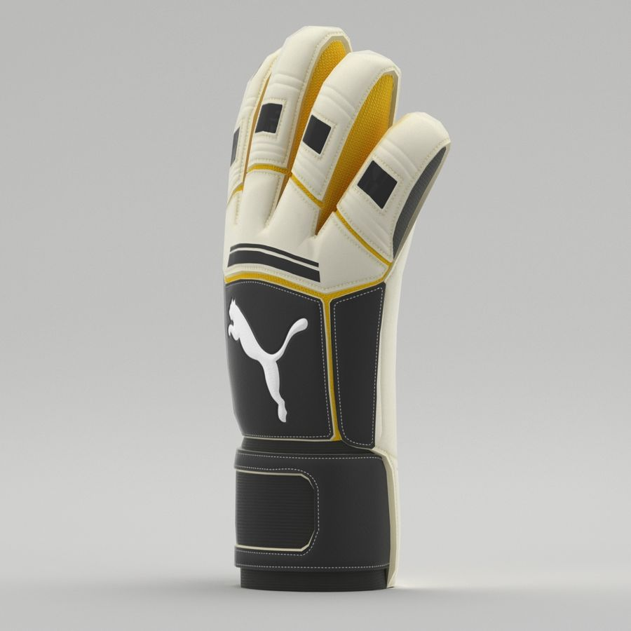 Puma V-Konstrukt II Keeper Glove royalty-free 3d model - Preview no. 3