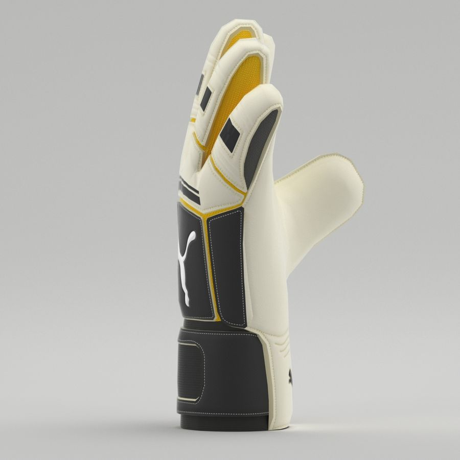 Puma V-Konstrukt II Keeper Glove royalty-free 3d model - Preview no. 9