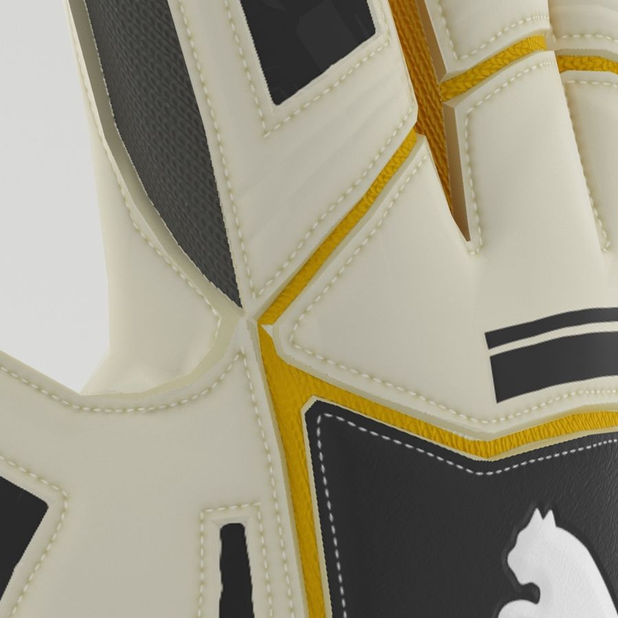 Puma V-Konstrukt II Keeper Glove royalty-free 3d model - Preview no. 4