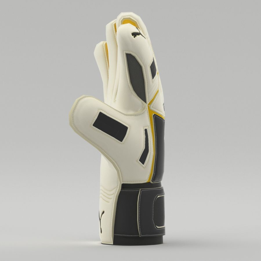Puma V-Konstrukt II Keeper Glove royalty-free 3d model - Preview no. 2