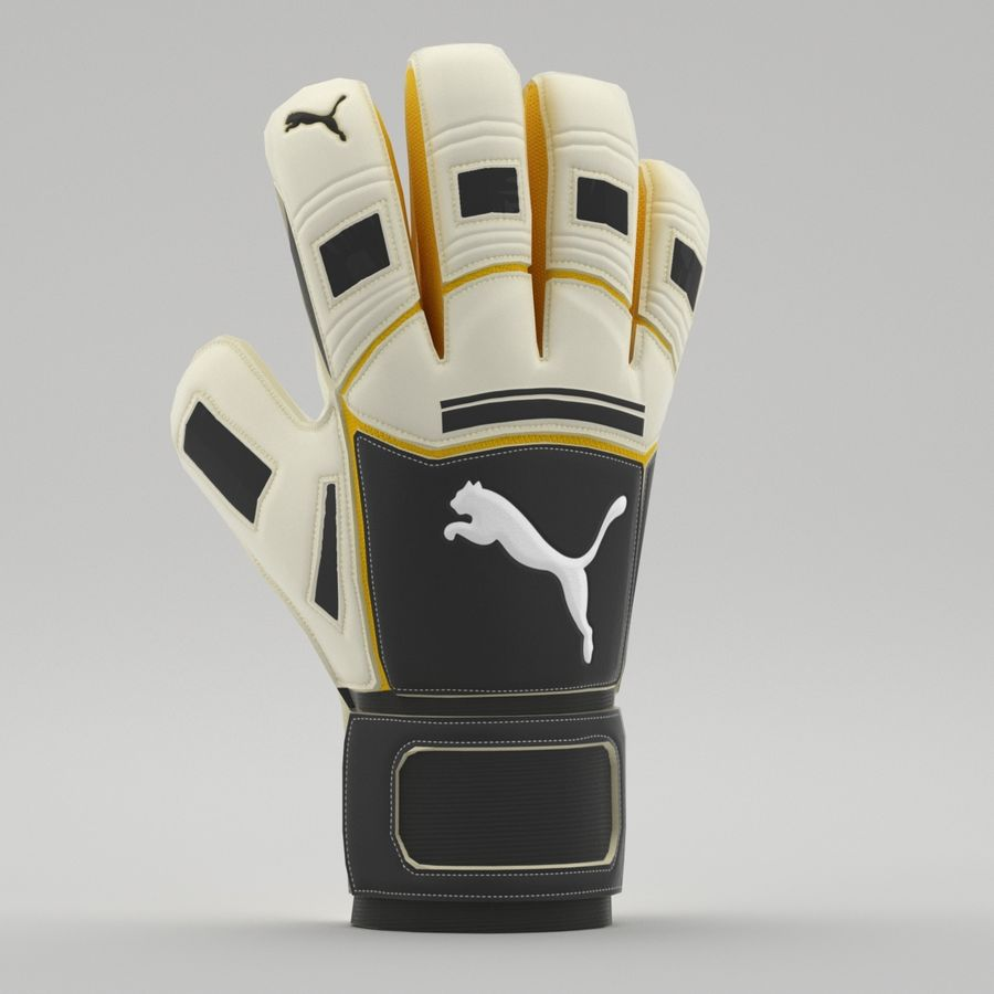 Puma V-Konstrukt II Keeper Glove royalty-free 3d model - Preview no. 6