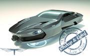 \\T// Hover Car 16 3d model