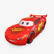Lightning Mcqueen Low Poly 3d model