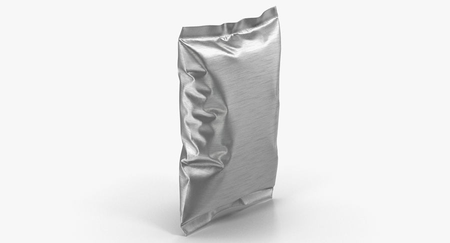 Foil Food Package royalty-free 3d model - Preview no. 5