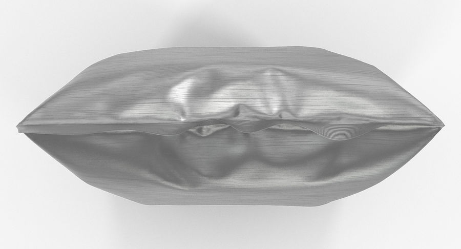 Foil Food Package royalty-free 3d model - Preview no. 10