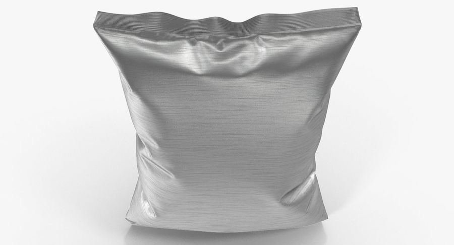 Foil Food Package royalty-free 3d model - Preview no. 8