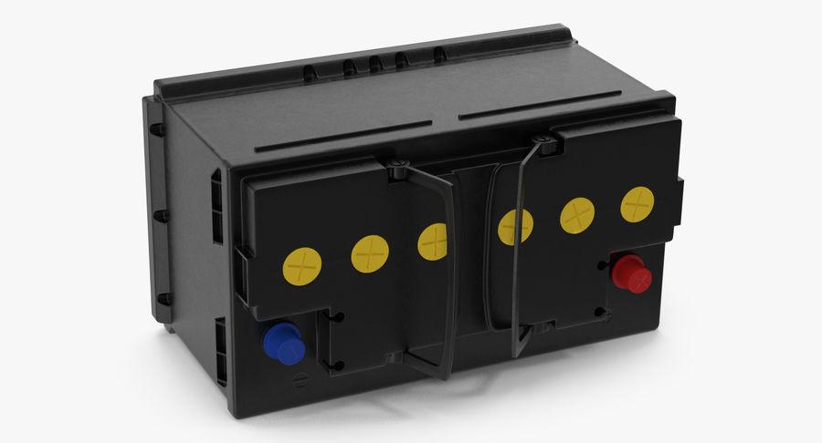 Bateria do carro 12v royalty-free 3d model - Preview no. 6