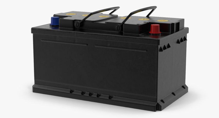Bateria do carro 12v royalty-free 3d model - Preview no. 5