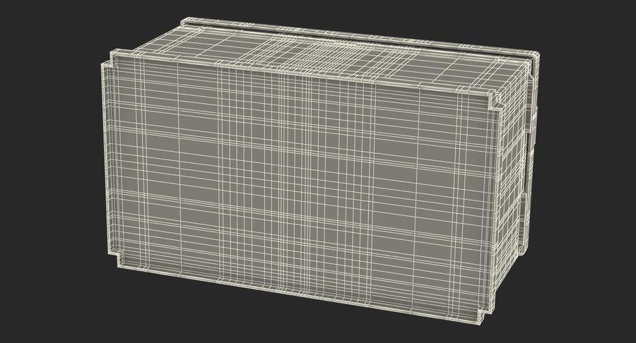 Bateria do carro 12v royalty-free 3d model - Preview no. 20