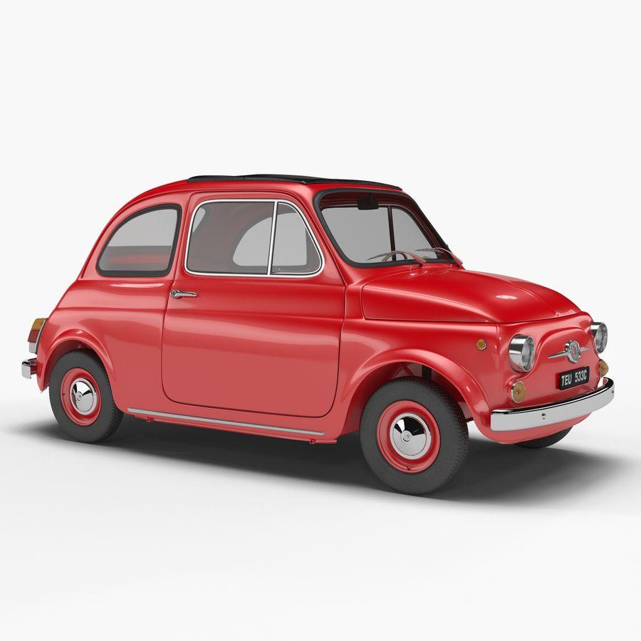 Fiat 500 3D Model $40