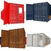 Container-Sammlung 3d model