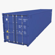 Industrial Container 40ft 3d model