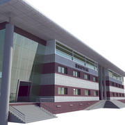 Hastane Binası 3d model