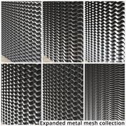 Utökad Metal Mesh Collection 3d model